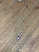 Load image into Gallery viewer, Small Heart Lobster Clasp Charm Catcher Necklace-3 lengths available - Posh West Boutique