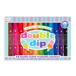 Double Dip Scented Chunky Double Ended Markers - Posh West Boutique