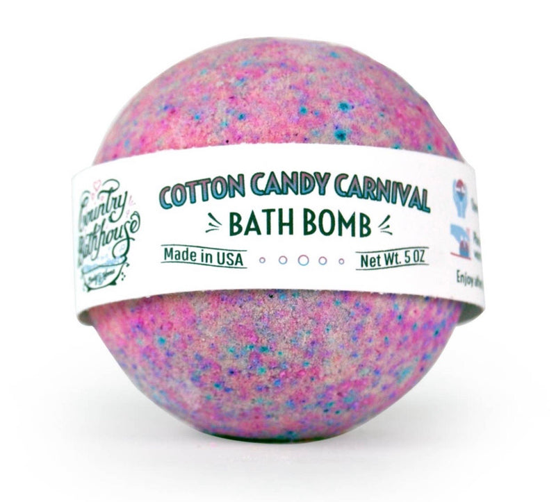 Cotton Candy Bath Bomb - Posh West Boutique
