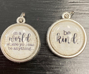Be Kind Double Sided Charm - Posh West Boutique