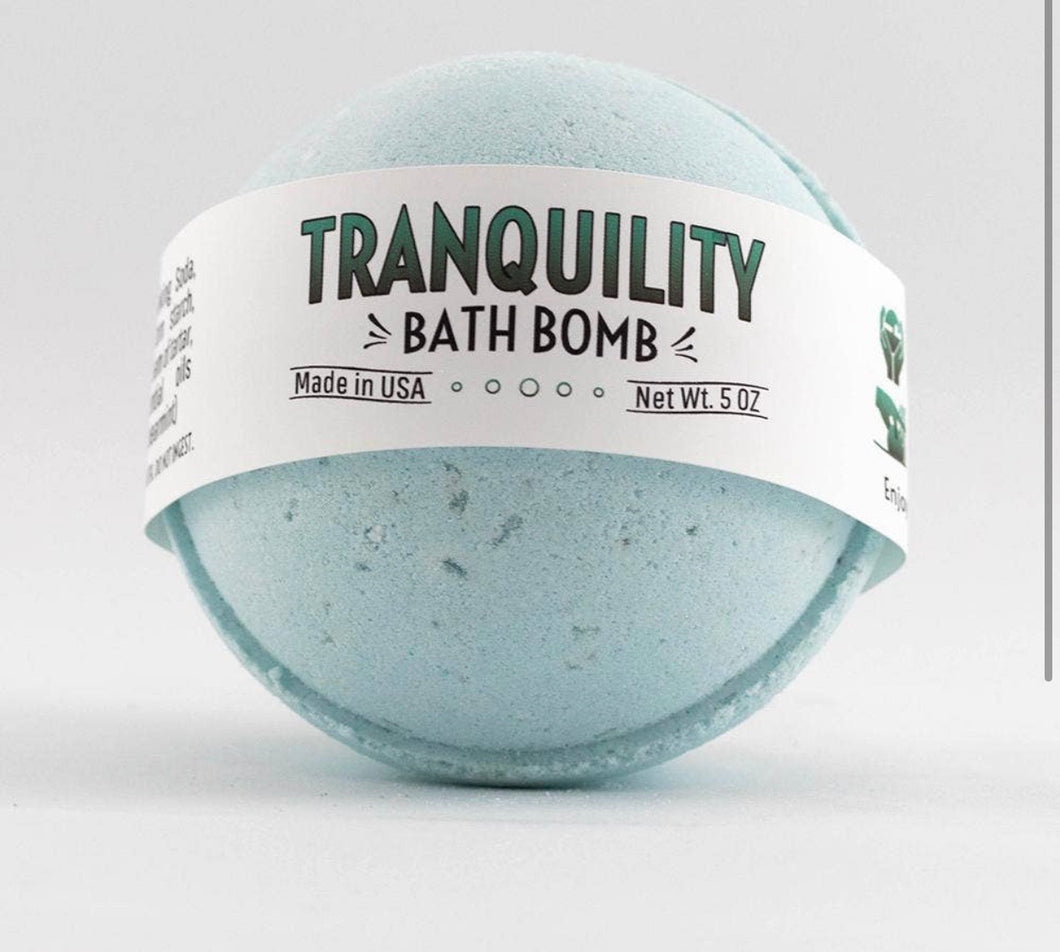 Tranquility Bath Bomb - Posh West Boutique