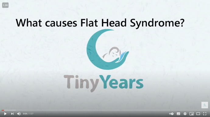 What causes Flat Head Syndrome?