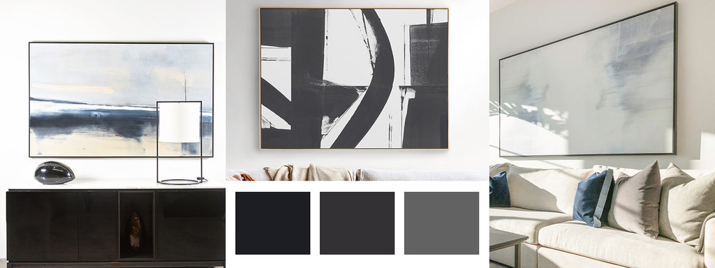 Black + Greys - made to order artwork