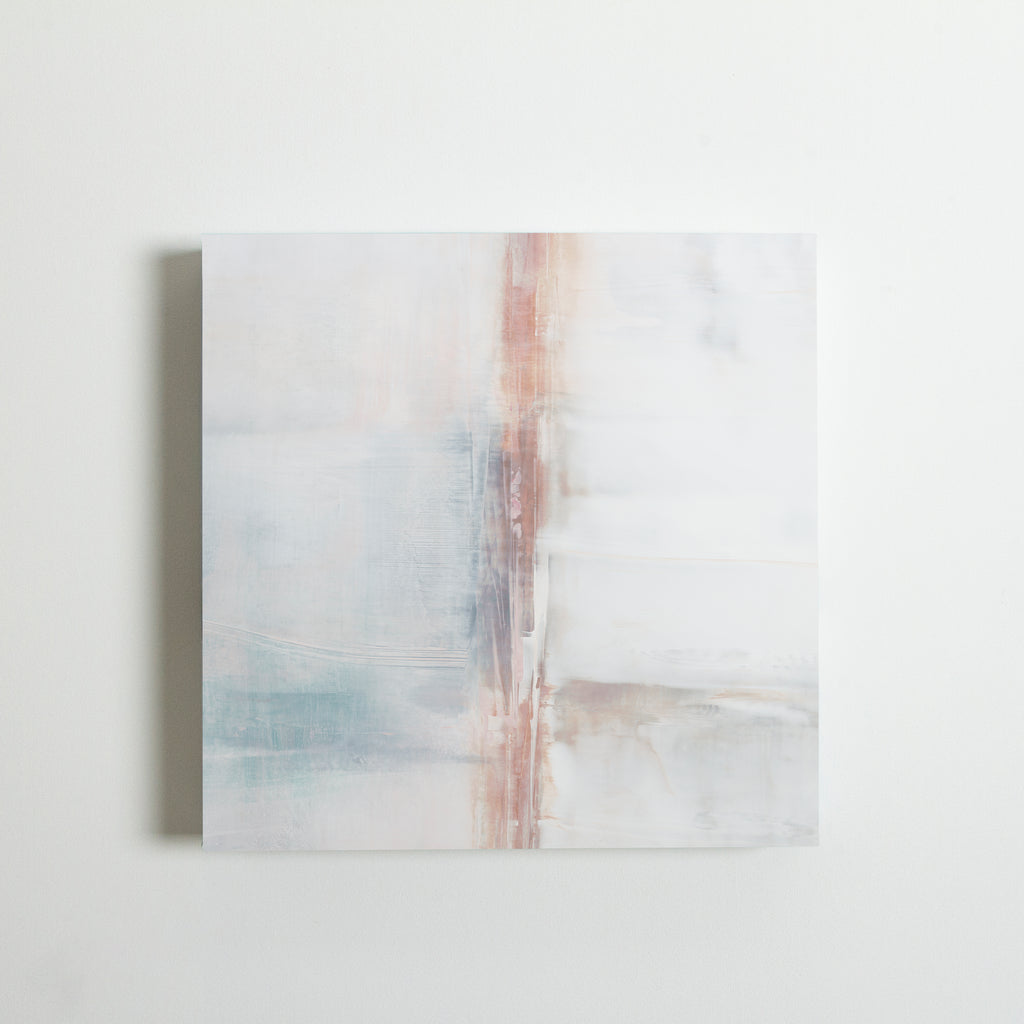 By Persuasion No.2 (in Blush) 16x16 Canvas | Limited Edition