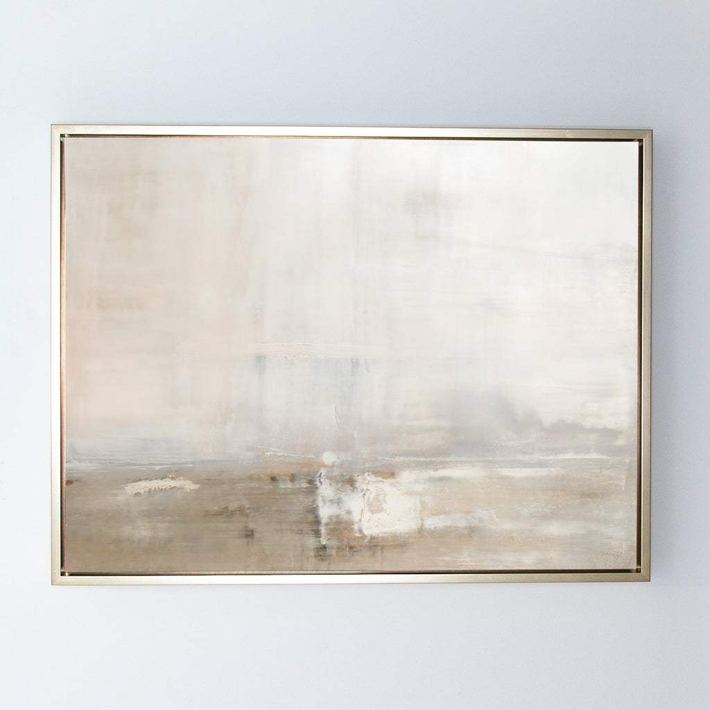 Dune canvas champagne gold frame