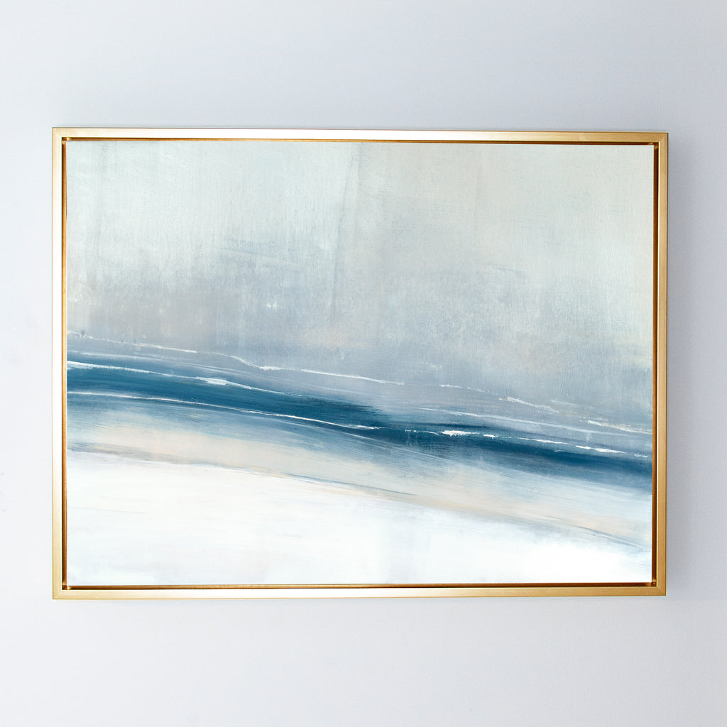 Enigma No. 10 canvas gilt frame