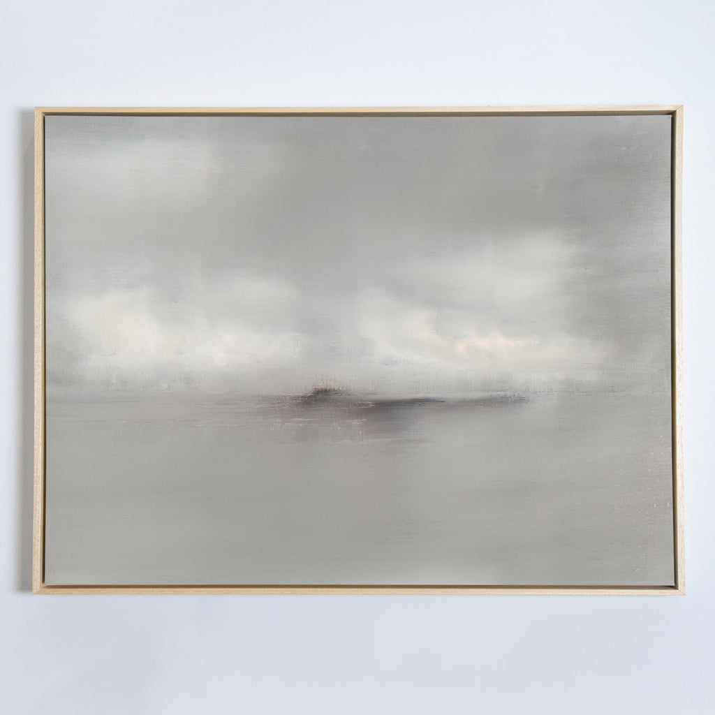 Haze No. 1 canvas natural frame