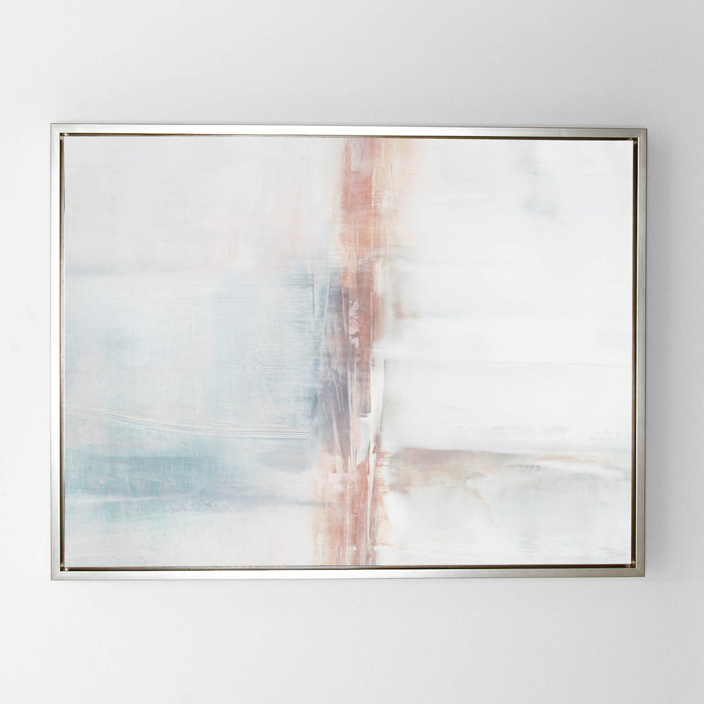 By Persuasion No.2  canvas sterling frame