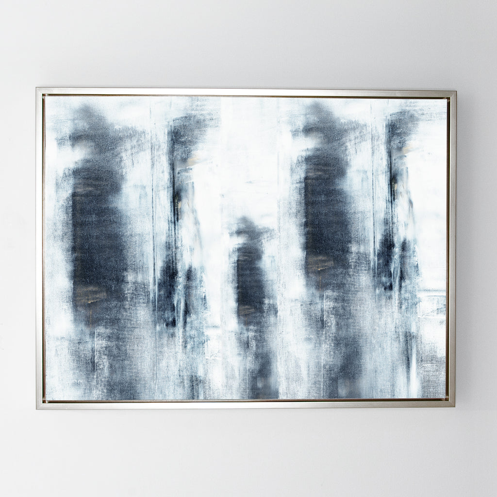 In Black No. 4 canvas sterling frame