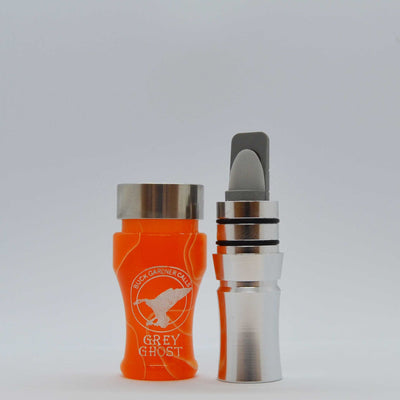 Grey Ghost Goose Call - Acrylic barrel / Aluminum Insert