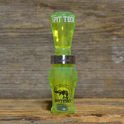 Acrylic SpitFire 1.5 Reed Duck Call - Fluorescent Green