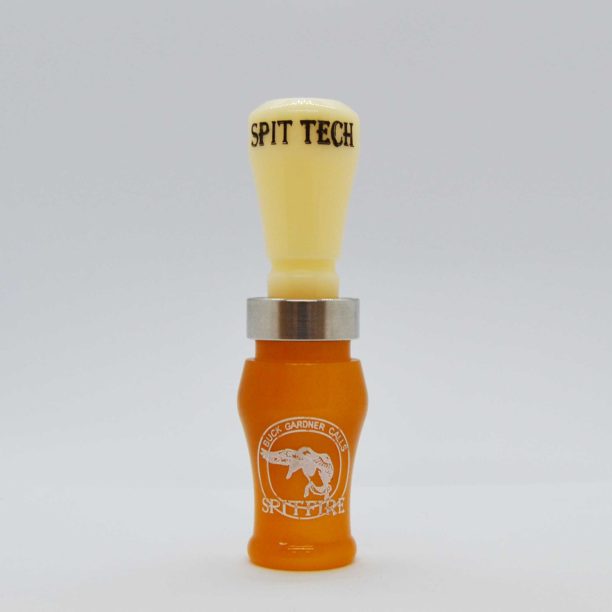 Acrylic SpitFire 1.5 Reed Duck Call - Golden Oak/Ivory