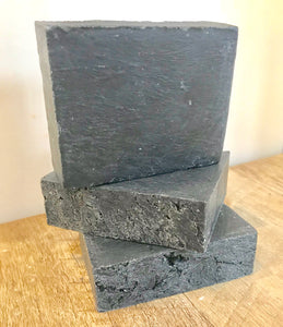 ALL NATURAL LAVENDER SOAP WITH ACTIVATED CHARCOAL (VEGAN)