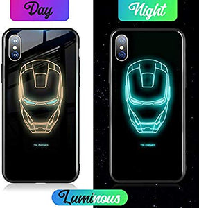 Glowing phone case