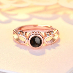 Romantic wedding ring