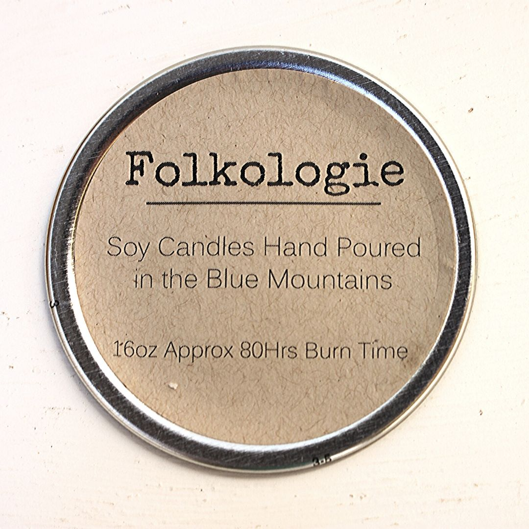 Folkologie Soy Candle Champagne & Strawberries