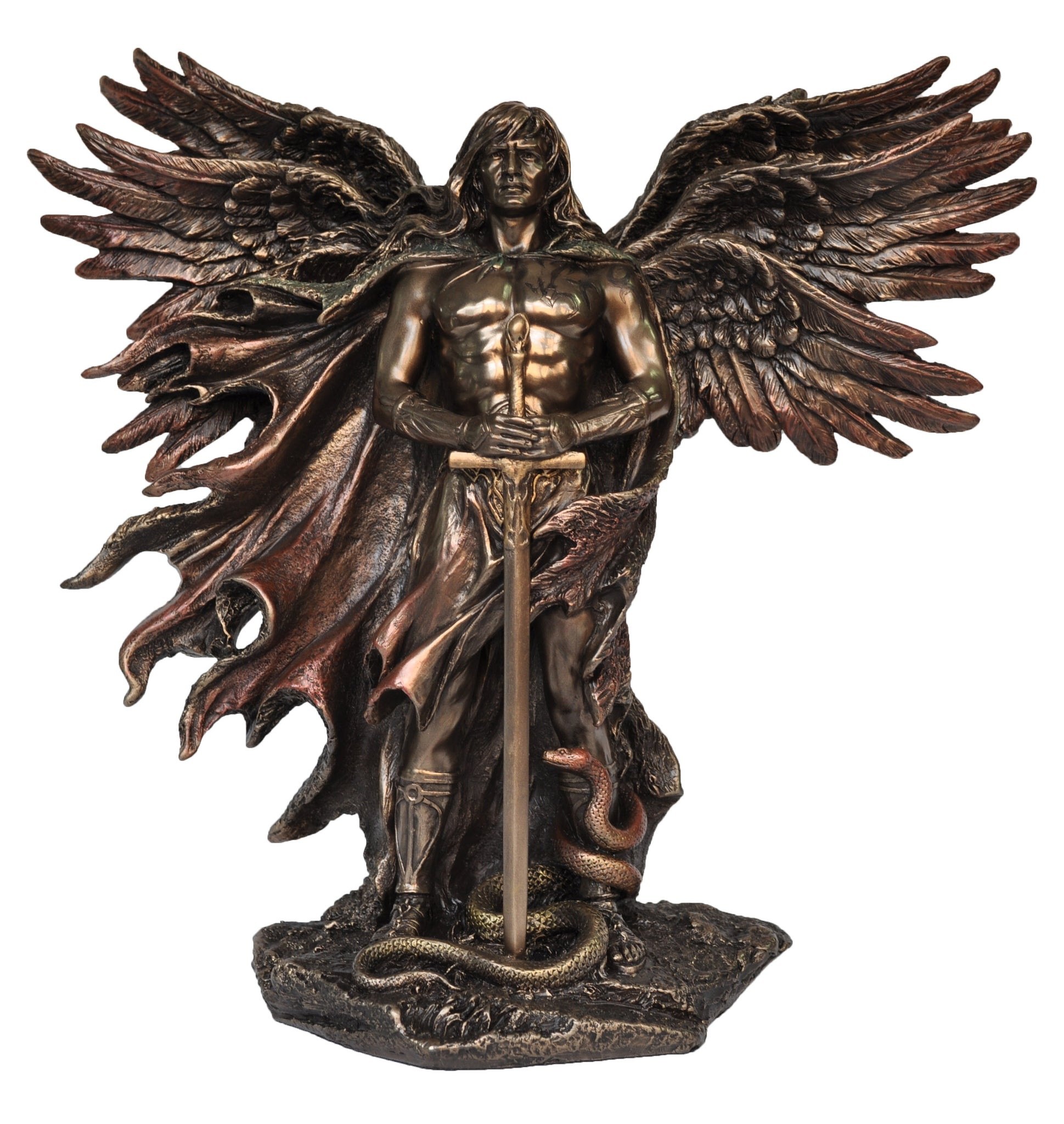 Veronese Six Winged Guardian Statue Figurine