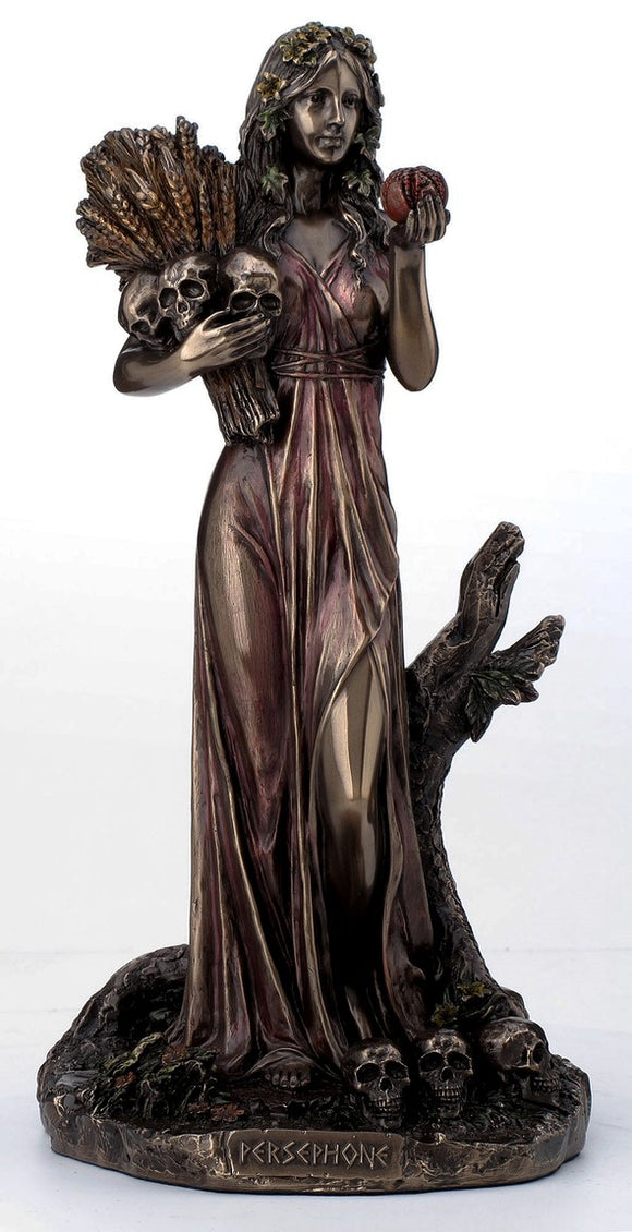 Veronese Bronze Persephone Greek Goddess of Agriculture Statue