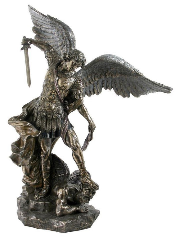 Veronese Bronze Michael Prince of Archangels Statue Large
