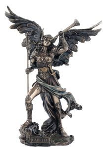 Veronese Archangel Gabriel-Angel of Revelation Bronze Statue Large