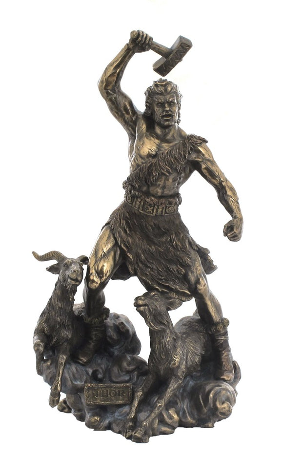 Veronese THOR - Norse god of thunder and storm Figurine Statue