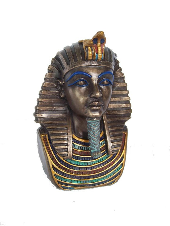 Ancient Egyptian Tutankhamun Head Statue Figurine With Free Shipping Australia Wide and Afterpay