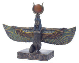 Veronese Bronze Egyptian Statue of Isis with Free Postage Australia Wide and Afterpay