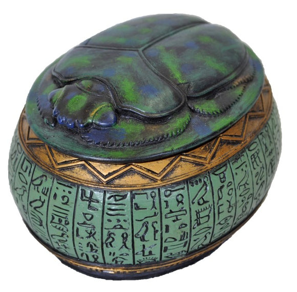 Ancient Egyptian Scarab Beetle Trinket Box with Free Shipping Aus Wide and Afterpay