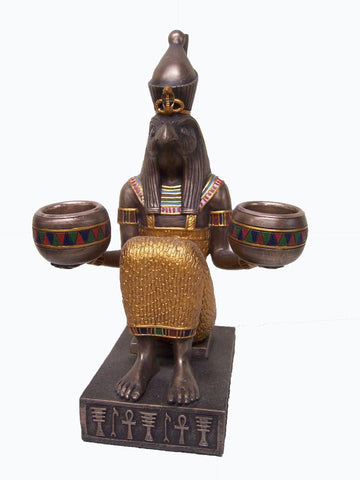 Ancient Egyptian Horus Candle Holder with Free Shipping Australia Wide and Afterpay