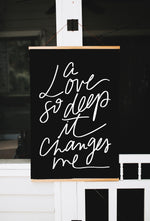 Poster: A Love So Deep It Changes Me