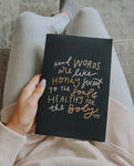 Kind Words Are Like Journal