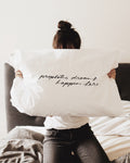 """prophetic dreams happen here"" Pillow Case"