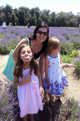 Lavender Field With my Girls