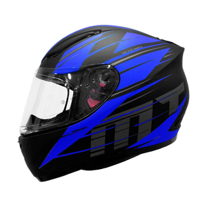 Casco MT Revenge Twist A7 Azul - Mate