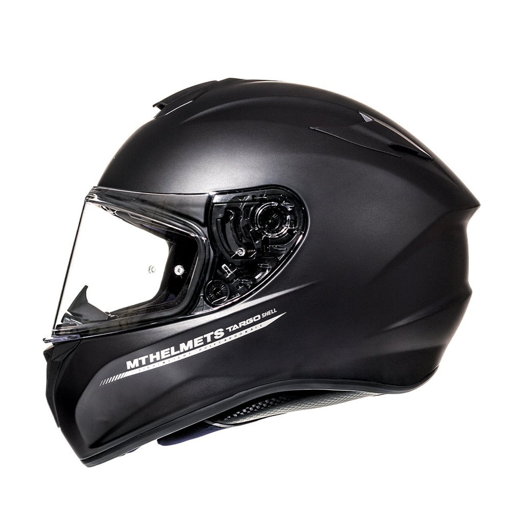 Casco MT Targo Solid Negro - Mate