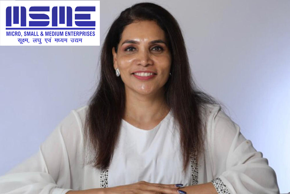DR. REKHA CHAUDHARI CONNECTS BEAUTY & WELLNESS INDUSTRY WITH THE MSME SECTOR