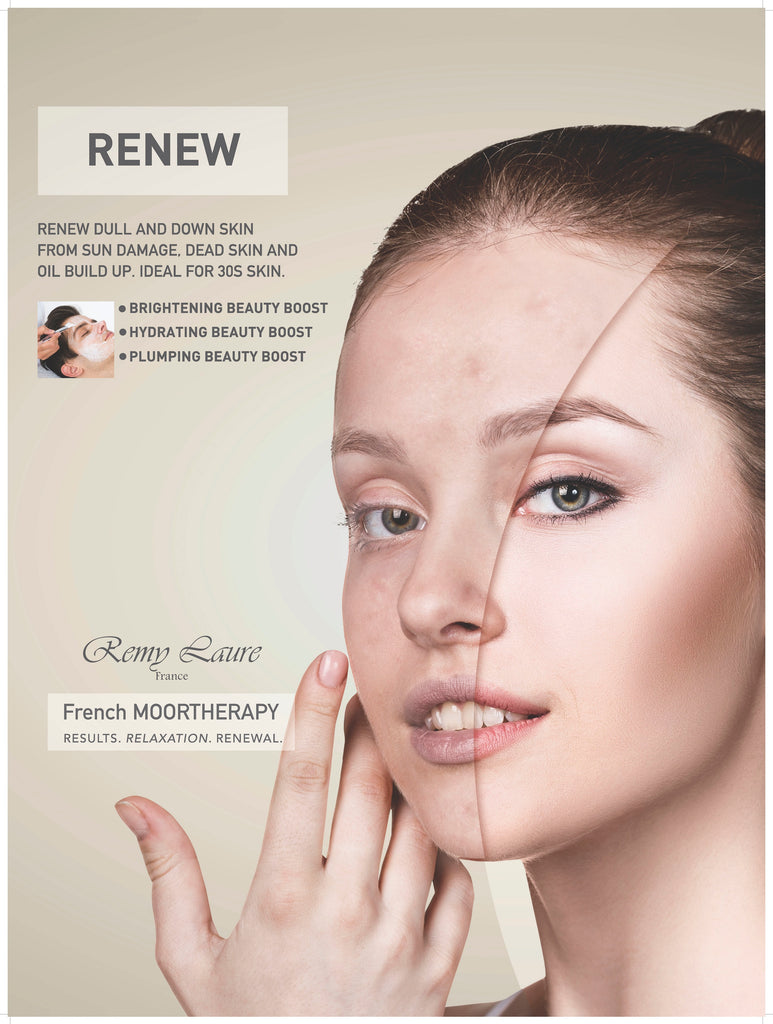 FRENCH MOOR THERAPY RENEW POSTER 3X4