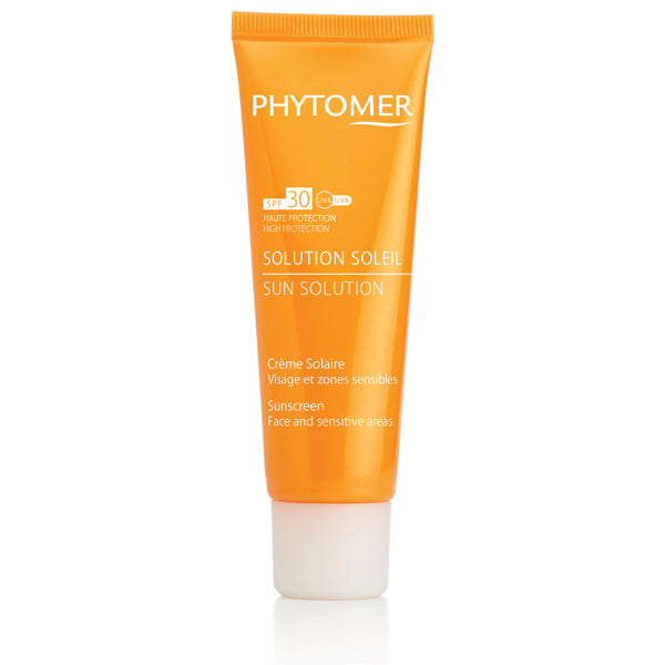 SUN SOLUTION SUNSCREEN SPF30 FACE AND SENSITIVE AREAS 50ML