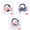 Flower Tiara Hair Tying Tool (2pcs)