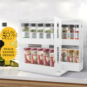 Multi-Function Rotating Storage Rack (New Year's Day promotion-50 ...