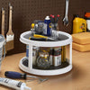 Double-layer Rotating Organizer Shelf