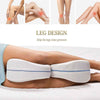 Contour Legacy Leg Memory Foam Pillow for Back Hip Legs Knee Support Wedge