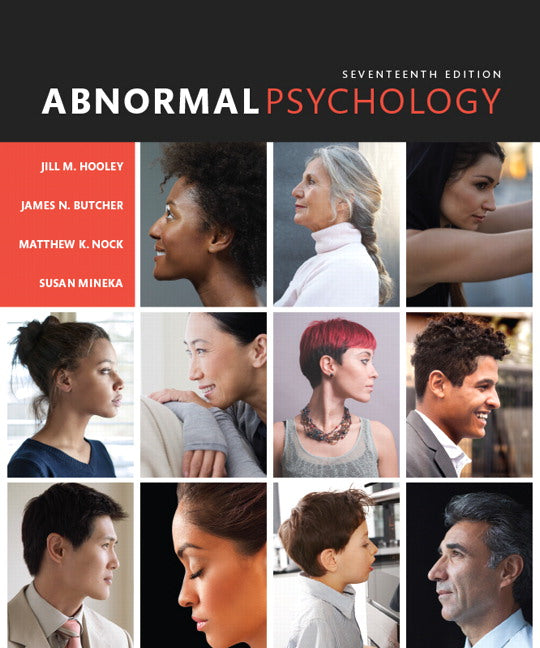 Abnormal Psychology by James N. Butcher