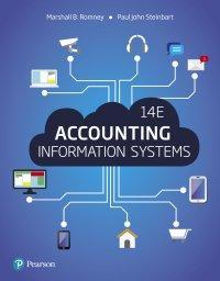 Accounting Information Systems 14th Edition by Romney; Steinbart