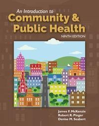 An Introduction to Community & Public Health 9th Editio