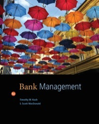 Bank Management 8th Edition by Timothy W. Koch