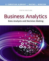 Business Analytics: Data Analysis & Decision Making 6th Edition