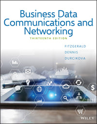 Business Data Communications and Networking 13th Edition