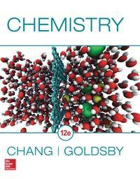 Chemistry 12th Edition by Raymond Chang