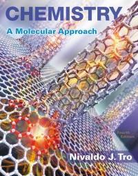 Chemistry: A Molecular Approach 4th Edition by Nivaldo J. Tro